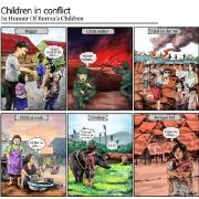 children-conflict