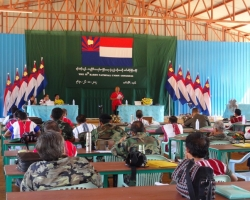 KNU 15th Congress at Lay Wah, Pa-an District, Karen State (November 26 to December 26, 2012)