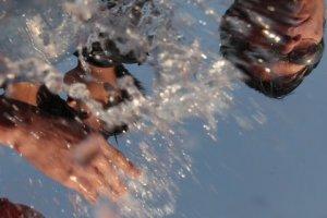 Songkran/Thingyan Water Festival on the Thai Burma border