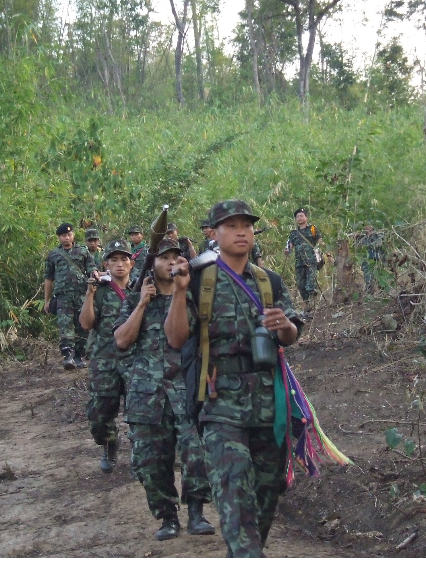 Photo of KNLA attack killed and wounded 13 Burmese soldiers