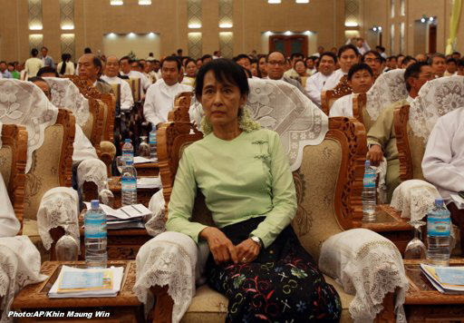 Photo of UN encouraged by talks between Suu Kyi and President Thein Sein