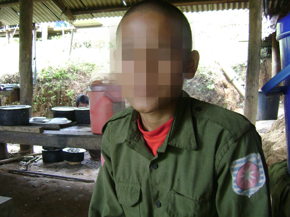 Photo of Burma army still using child soldiers