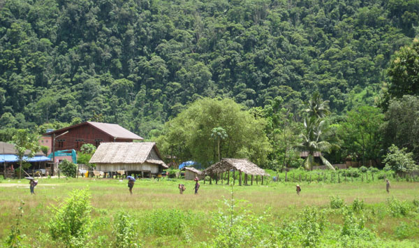 Photo of BGF order 9 villages to relocate to Myaing Gyi Ngu