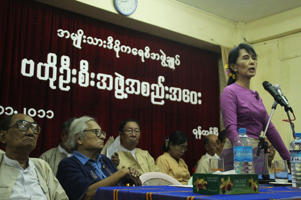 Photo of Burma's Parliament Opens  – NLD In-Charge Except For…