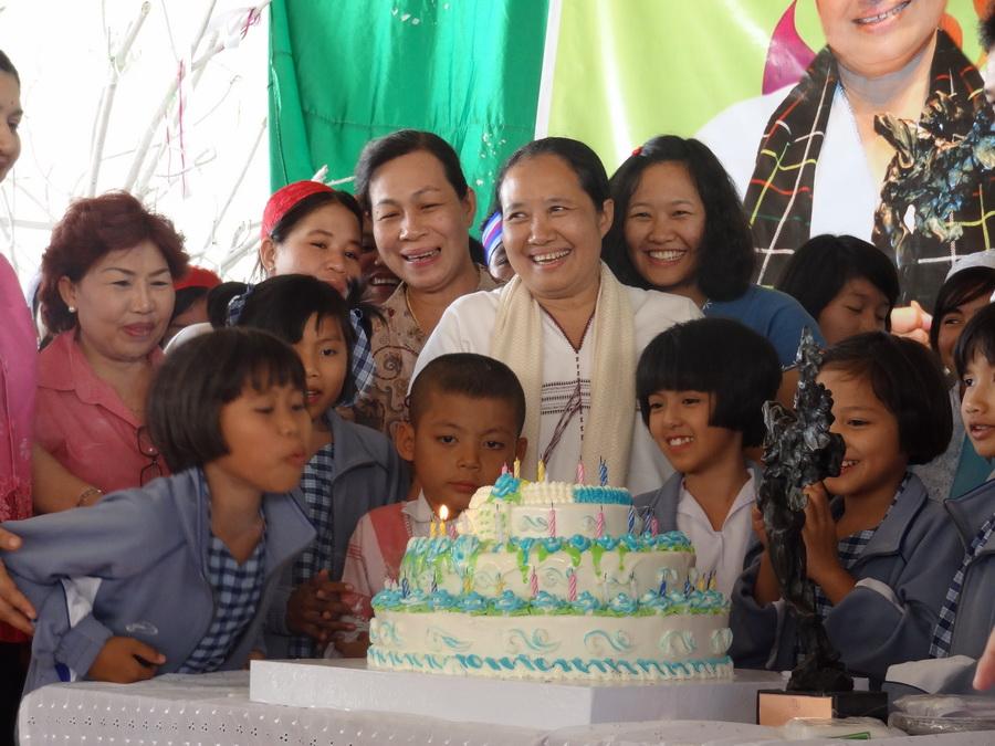 Photo of Thousands celebrate Dr. Cynthia Maung birthday