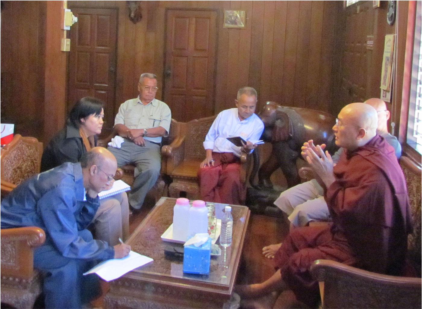 Photo of Government keeps eye on Karen Peace Committee