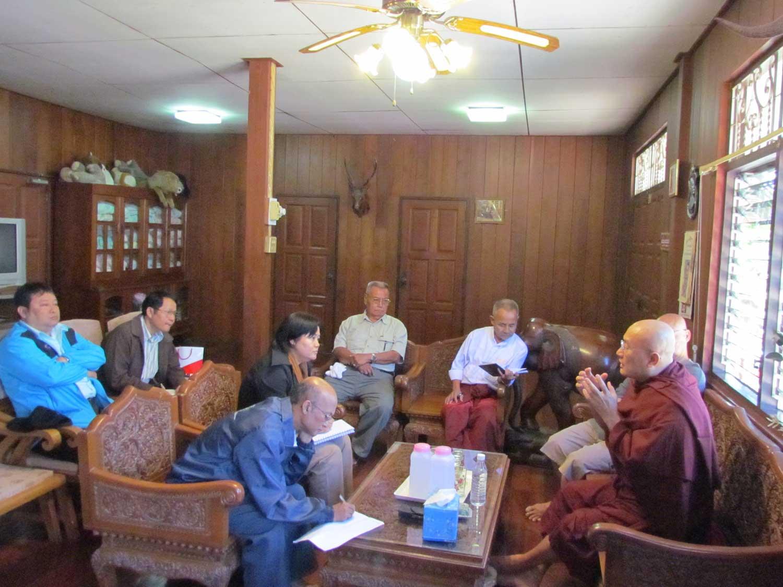 Photo of KNU groups discuss peace process