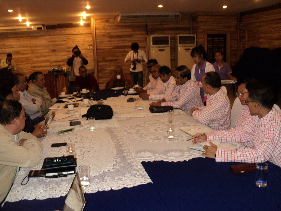 Photo of Mon Party start 'peace talks' with government