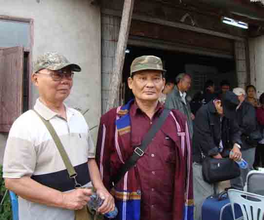 KNU delegation preparing to leave for Pa an