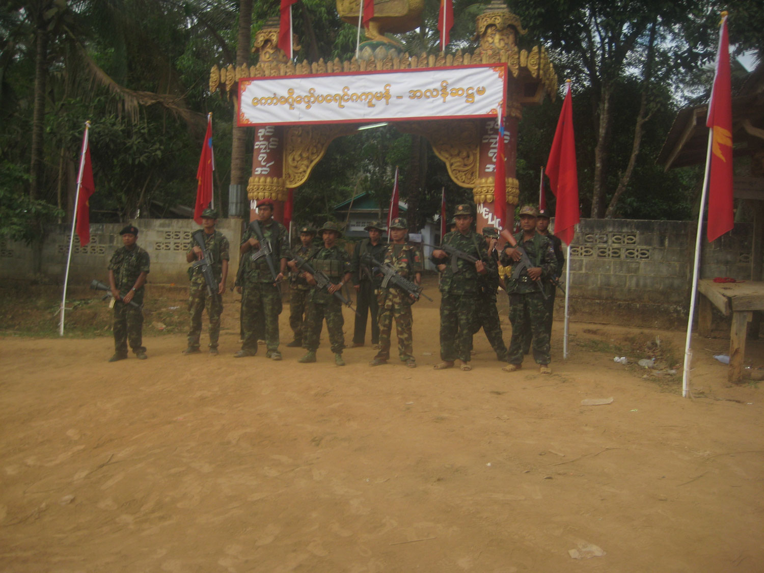 Photo of Mon conference urged further 'peace talks' with Burma's government