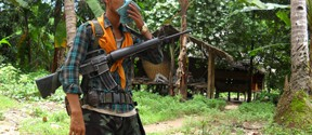 A DKBA soldier from Myan Gyi Ngu