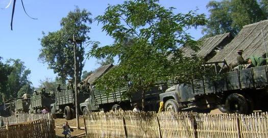 Photo of Burma Army sends troop reinforcements to Karen areas