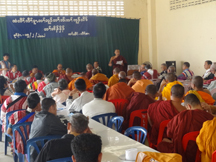 Photo of Karen religious leaders join hands for unity and peace