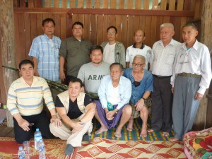 KNU and PC group photo after meeting