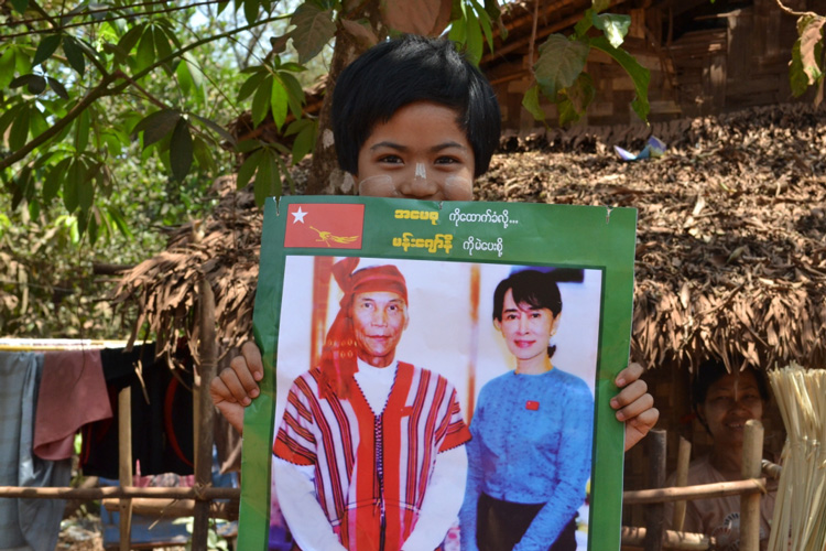 Photo of NLD campaign team insulted in Irrawaddy Region