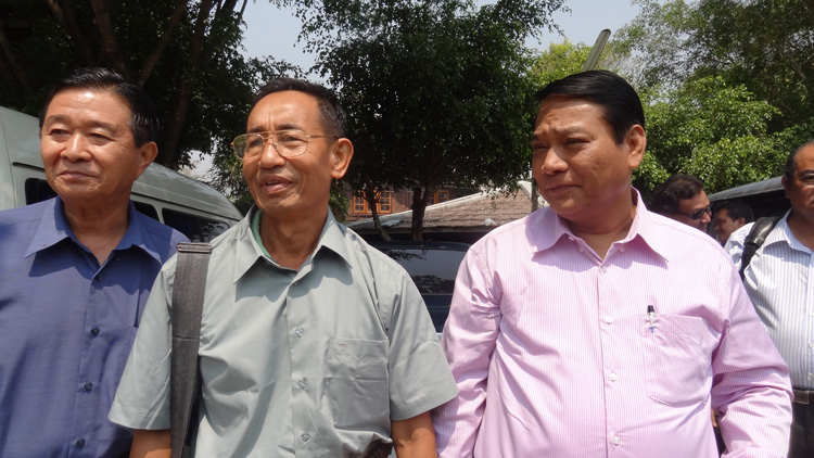 Photo of Padoh Mahn Nyein Maung is finally home