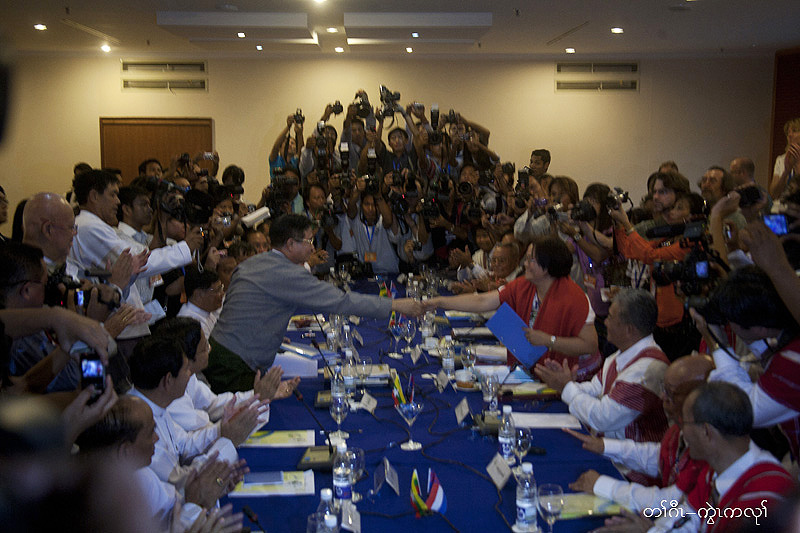 Photo of KNU and Burmese government reached historic agreement on a formal cease-fire