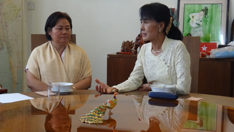 Photo of KNU and Suu Kyi focused on responsible development