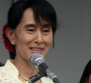 Aung San Suu Kyi (Photo: Karen News)