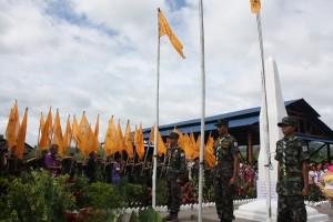 KKO-DKBA commemorate 62nd Karen Martyrs Day