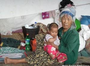 Kachin refugee - Photo KNG