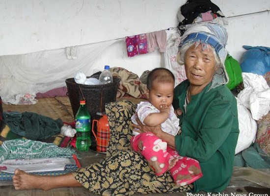 Kachin refugee - Photo KNG