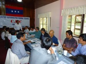 UNFC Meeting Thai-Burma Border