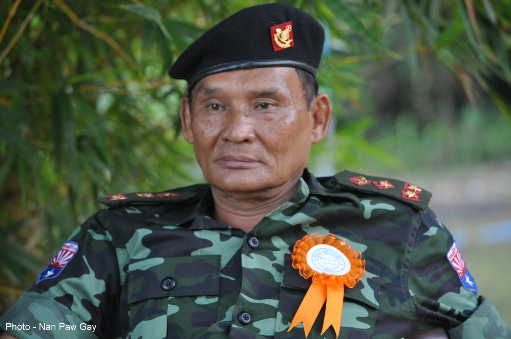 Photo of General Jonny elected as head of Karen Army