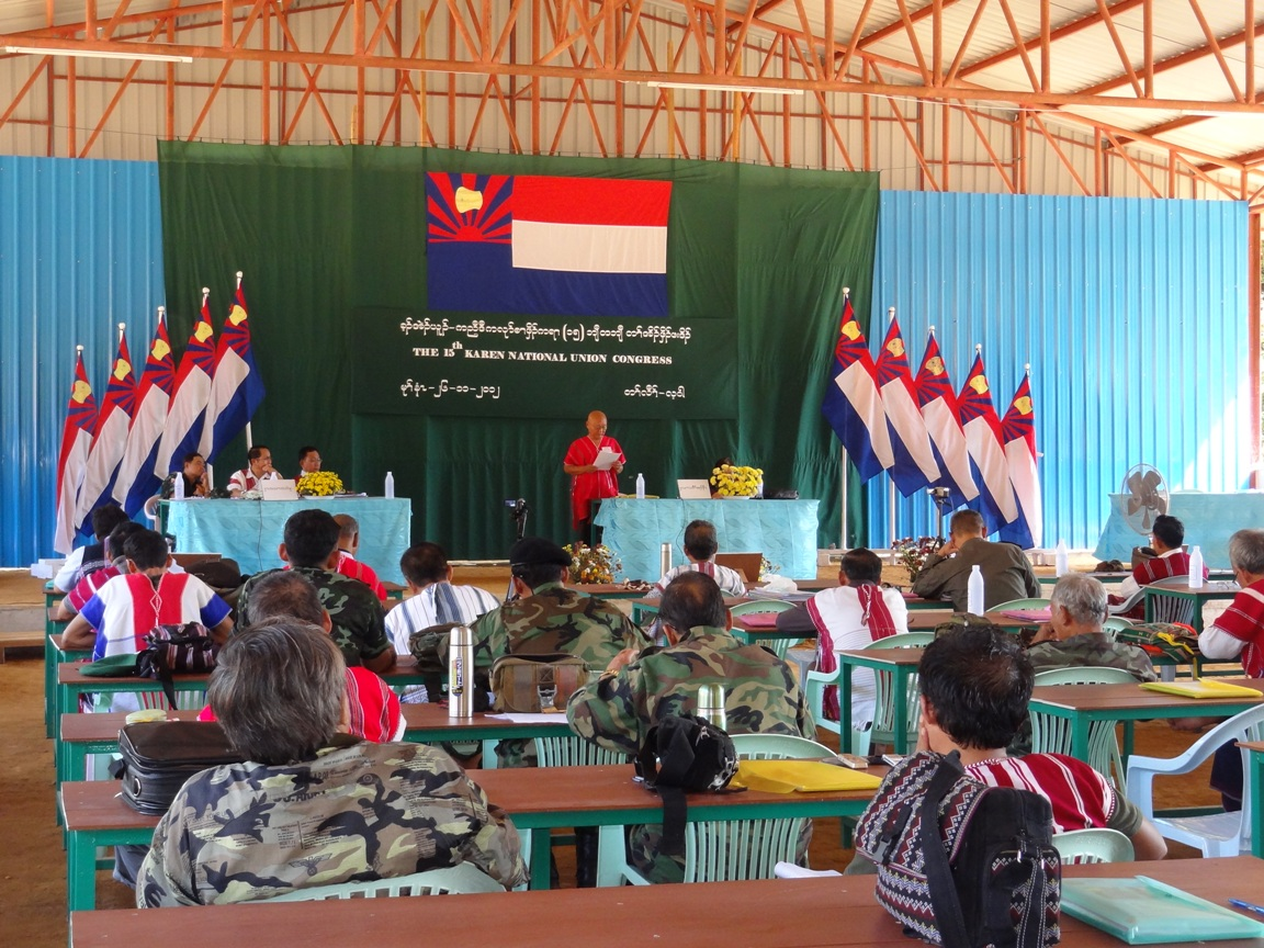 Photo of KNU Congress ends – all leadership positions filled