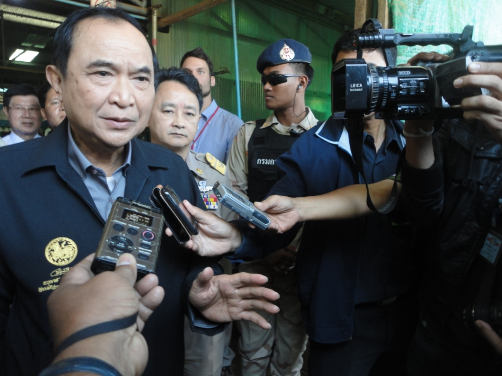 Photo of Thai Interior Minister cools refugee repatriation talk