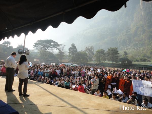 US official visit Mae La camp
