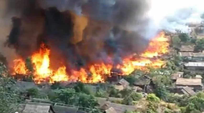 Photo of Refugee camps on high fire alert
