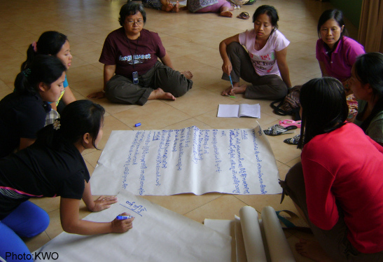 Photo of Karen women's voices vital in peace talks