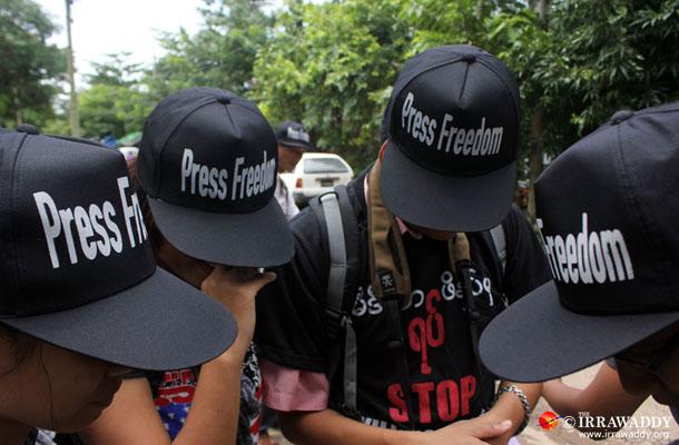 Photo of Press Freedom – Journalist Arrests Undercut Burma Reforms