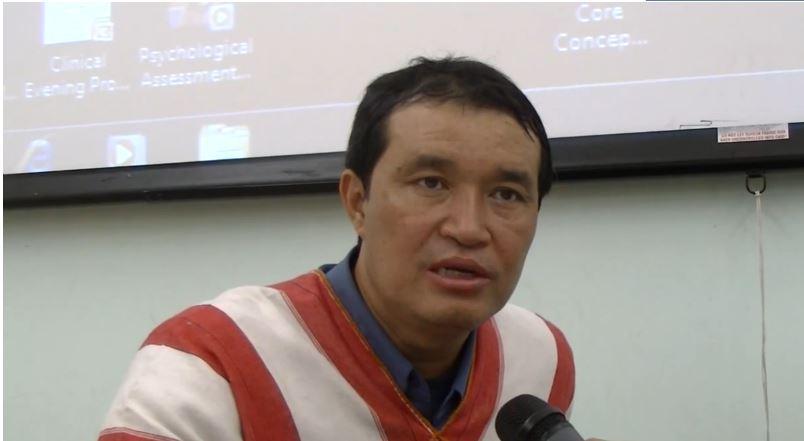 Photo of KNU's Colonel Ner Dah Mya briefs Australian Parliament