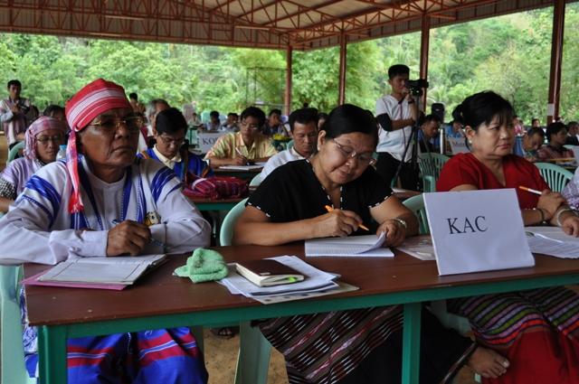 Photo of Karen National Unity Seminar supports KNU peace plan