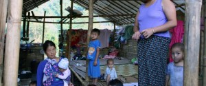 Displaced villagers in Kachin State where military perpetrated rape against a Kachin girl  was reported as recently as April 10.
