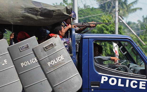 Photo of Gun battle: Hpa-an police arrest and charge man for drug trafficking and weapon offences