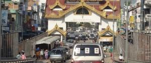 Mae Sot - Myawaddy border crossing