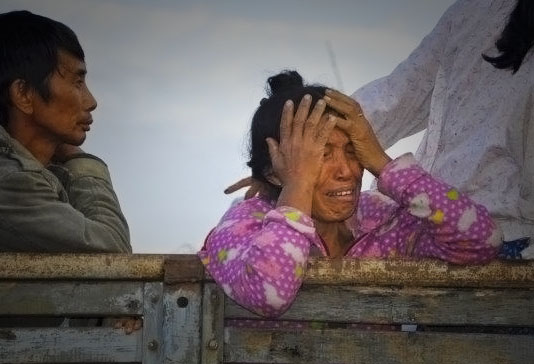 Photo of 'Reformed Burma' Marred by Atrocities