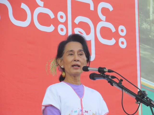 Photo of Karen State: Suu Kyi Lobby's for Constitutional Reform