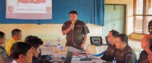 KNU and Govt census meeting