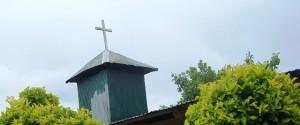 Cross sign on a local church (Photo: Karen News)