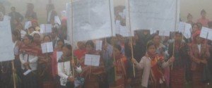 Protest held by Chin women on 23rd of June  (Photo - Razua Women's Group)