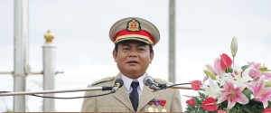 Col Saw Chit Thu at 4th Anniversary of BGF formation day (Photo-KIC)