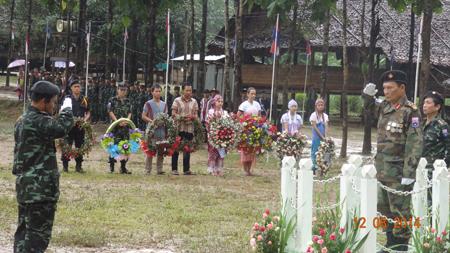 Photo of Karen People Honour Martys