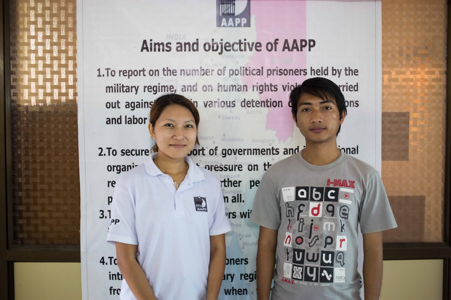 Photo of Former Political Prisoners Counsel Burma's Victims of Torture