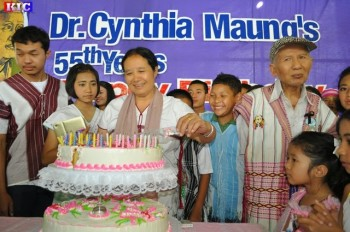 Dr. Cynthia at her birthday