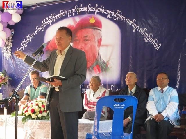 Photo of Memorial Service Honored Deceased Legendary Karen General