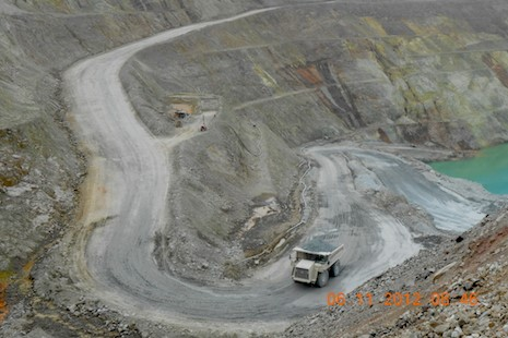 Photo of Troubled Copper Mine a 'Cautionary Tale' for Myanmar Investors*